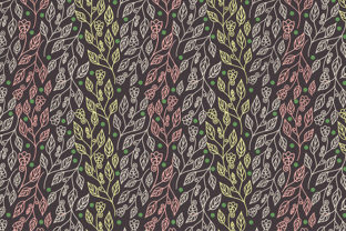 Abstract Floral Seamless Pattern Graphic By Kotak Kuning Studio