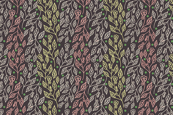 Download Free Abstract Floral Seamless Pattern Graphic By Kotak Kuning Studio for Cricut Explore, Silhouette and other cutting machines.