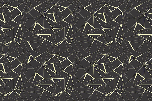 Print on Demand: Abstract Geometric Pattern Graphic Patterns By Kotak Kuning Studio
