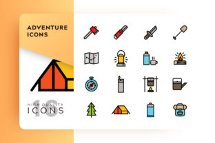 Adventure Icon Pack Graphic By Goodware.Std