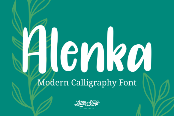 Print on Demand: Alenka Script & Handwritten Font By herbanuts