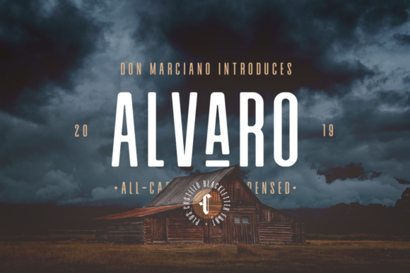Download Free Alvaro Duo Font By Donmarciano Creative Fabrica for Cricut Explore, Silhouette and other cutting machines.
