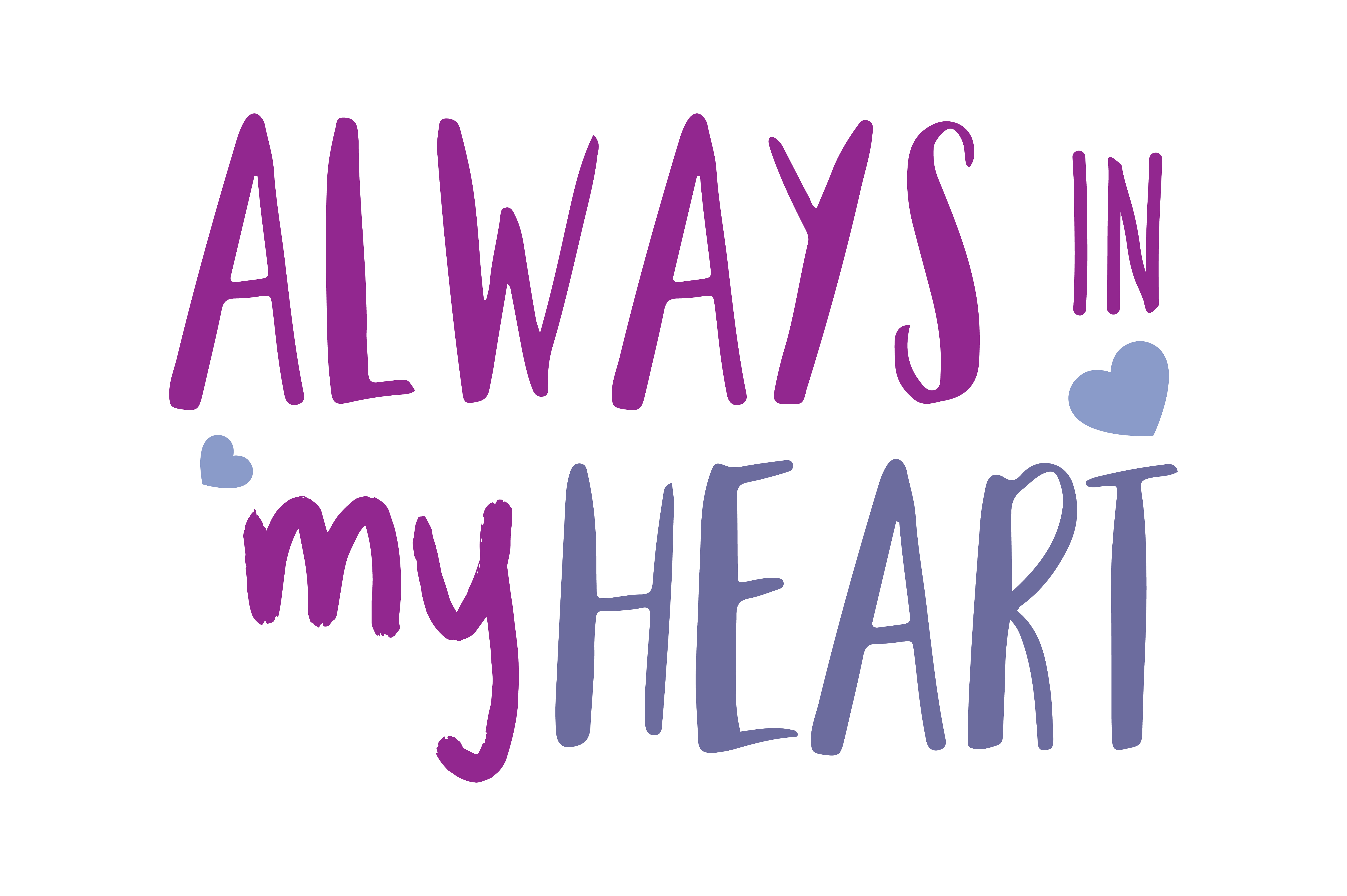 Download Free Always In My Heart Quote Svg Cut Graphic By Thelucky Creative for Cricut Explore, Silhouette and other cutting machines.