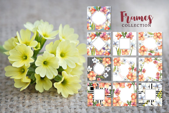 Print on Demand: Amaryllis Flowers Watercolor Png Graphic Illustrations By MyStocks - Image 6