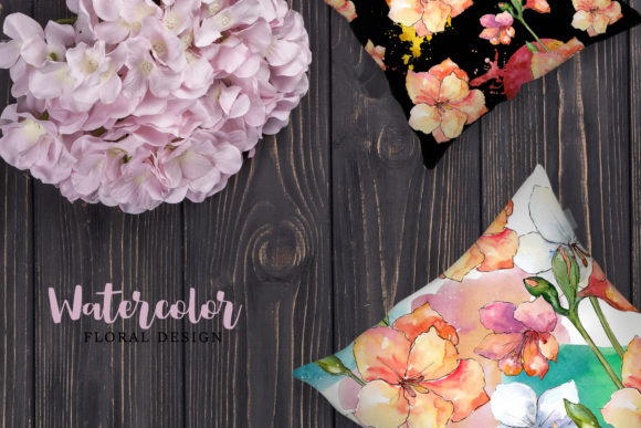 Print on Demand: Amaryllis Flowers Watercolor Png Graphic Illustrations By MyStocks - Image 7