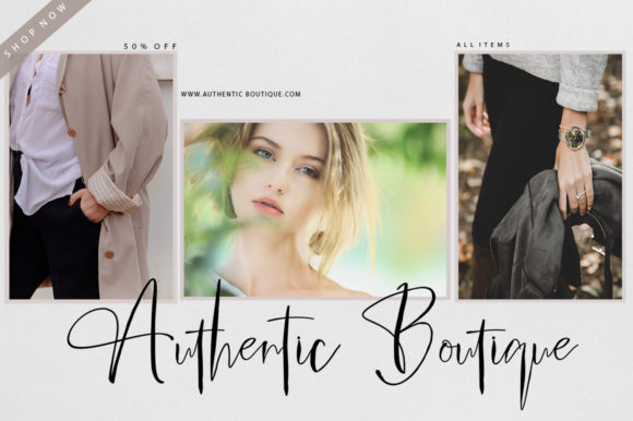 Print on Demand: Amstrong Script Script & Handwritten Font By luckytype.font - Image 3
