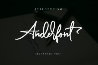 Anderfont Font By alphArt