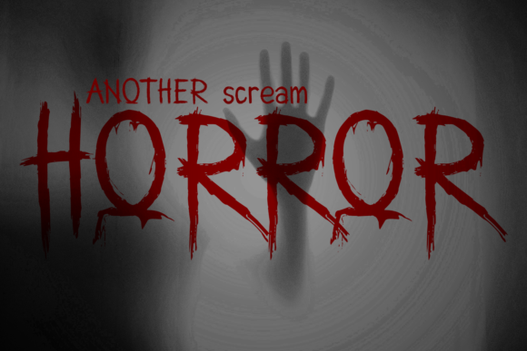 Print on Demand: Another Scream Display Font By OCS Studio - Image 4
