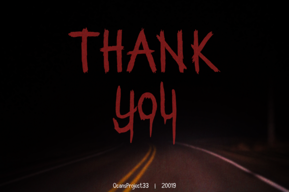 Another Scream Font By OCS Studio Image 7