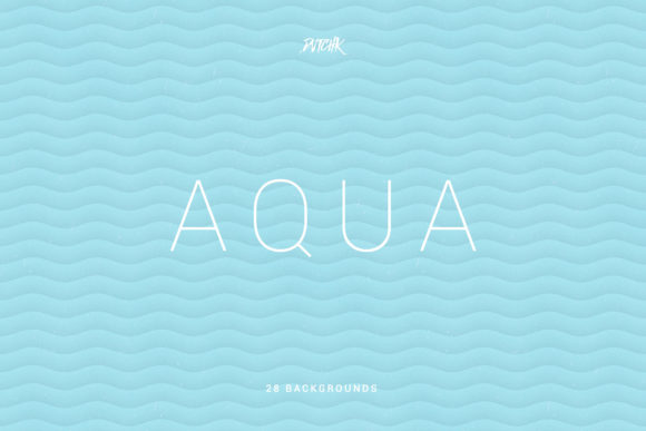 Aqua Soft Abstract Wavy Backgrounds Graphic By dvtchk