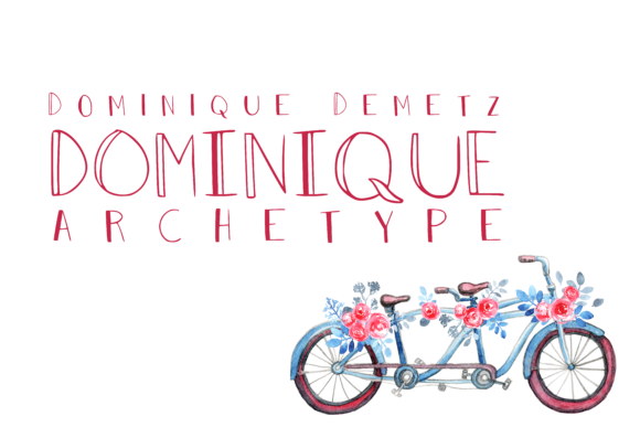 Print on Demand: Archetype Decorative Font By Dominique Demetz