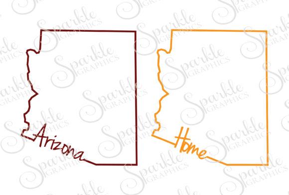 Download Free Arizona Cut File Graphic By Sparkle Graphics Creative Fabrica for Cricut Explore, Silhouette and other cutting machines.