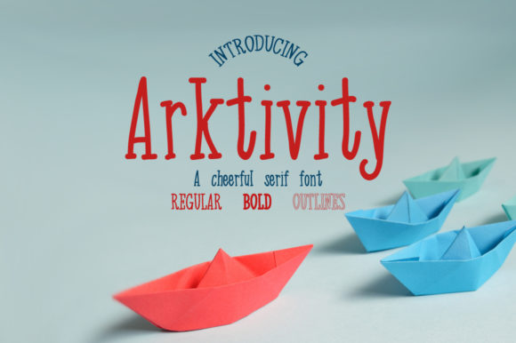 Download Free Arkitivity Font By Twenty Two Creative Fabrica for Cricut Explore, Silhouette and other cutting machines.