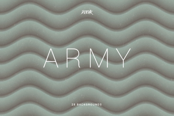Army Green Soft Abstract Wavy Backgrounds Graphic By dvtchk