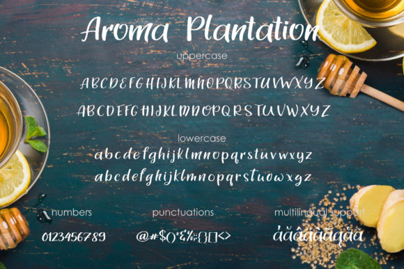 Print on Demand: Aroma Plantation Duo Script & Handwritten Font By tregubova.jul - Image 4