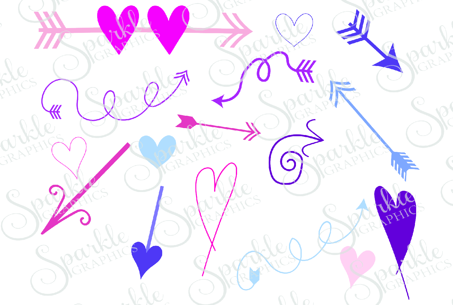 Download Free Arrow Doodles Cut File Graphic By Sparkle Graphics Creative for Cricut Explore, Silhouette and other cutting machines.