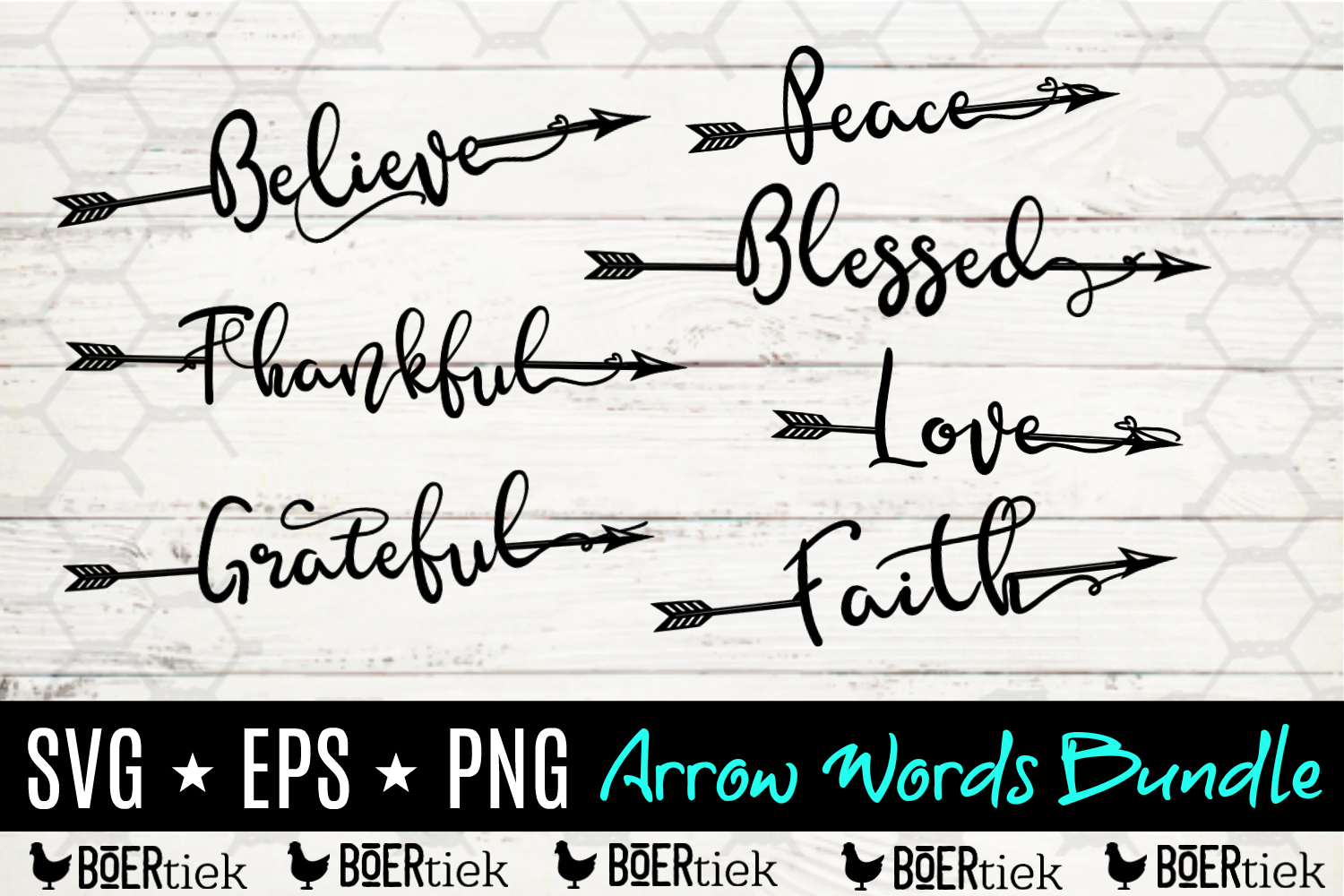 Download Free Arrowords Words With An Arrow Graphic By Boertiek Creative for Cricut Explore, Silhouette and other cutting machines.