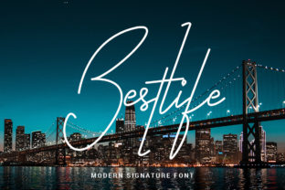 Print on Demand: Bestlife Script & Handwritten Font By ibeydesign