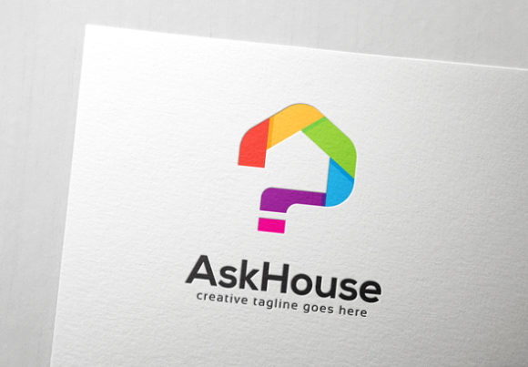 Download Free Ask House Logo Graphic By Slim Studio Creative Fabrica SVG Cut Files