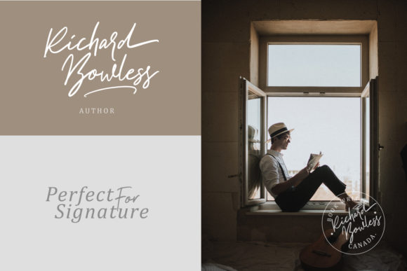 Print on Demand: Aurelie Smith Script & Handwritten Font By saridezra - Image 4