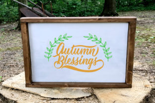 Autumn Blessings Graphic By summersSVG