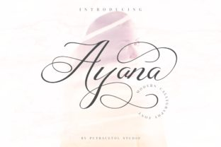 Ayana Font By putracetol