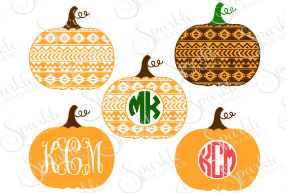 Download Free Aztec Pumpkin Cut File Graphic By Sparkle Graphics Creative Fabrica for Cricut Explore, Silhouette and other cutting machines.