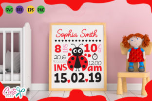 Baby Birth Announcement Graphic Illustrations By Cute files