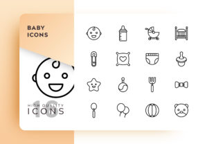 Baby Icon Pack Graphic By Goodware.Std