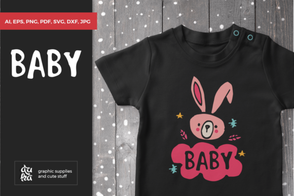 Download Free Baby Graphic By Duka Creative Fabrica SVG Cut Files