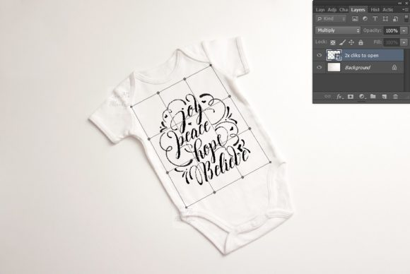 Print on Demand: Baby Suit Bodysuit Growsuit Mockup Graphic Product Mockups By Leo Flo Mockups - Image 2