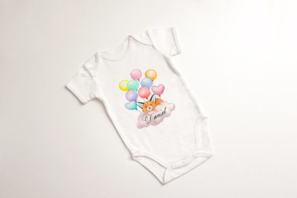 Print on Demand: Baby Suit Bodysuit Growsuit Mockup Graphic Product Mockups By Leo Flo Mockups - Image 3