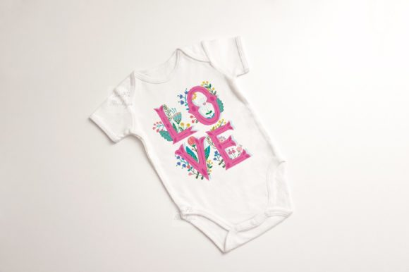 Print on Demand: Baby Suit Bodysuit Growsuit Mockup Graphic Product Mockups By Leo Flo Mockups - Image 4