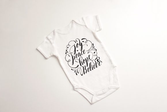 Print on Demand: Baby Suit Bodysuit Growsuit Mockup Graphic Product Mockups By Leo Flo Mockups - Image 5