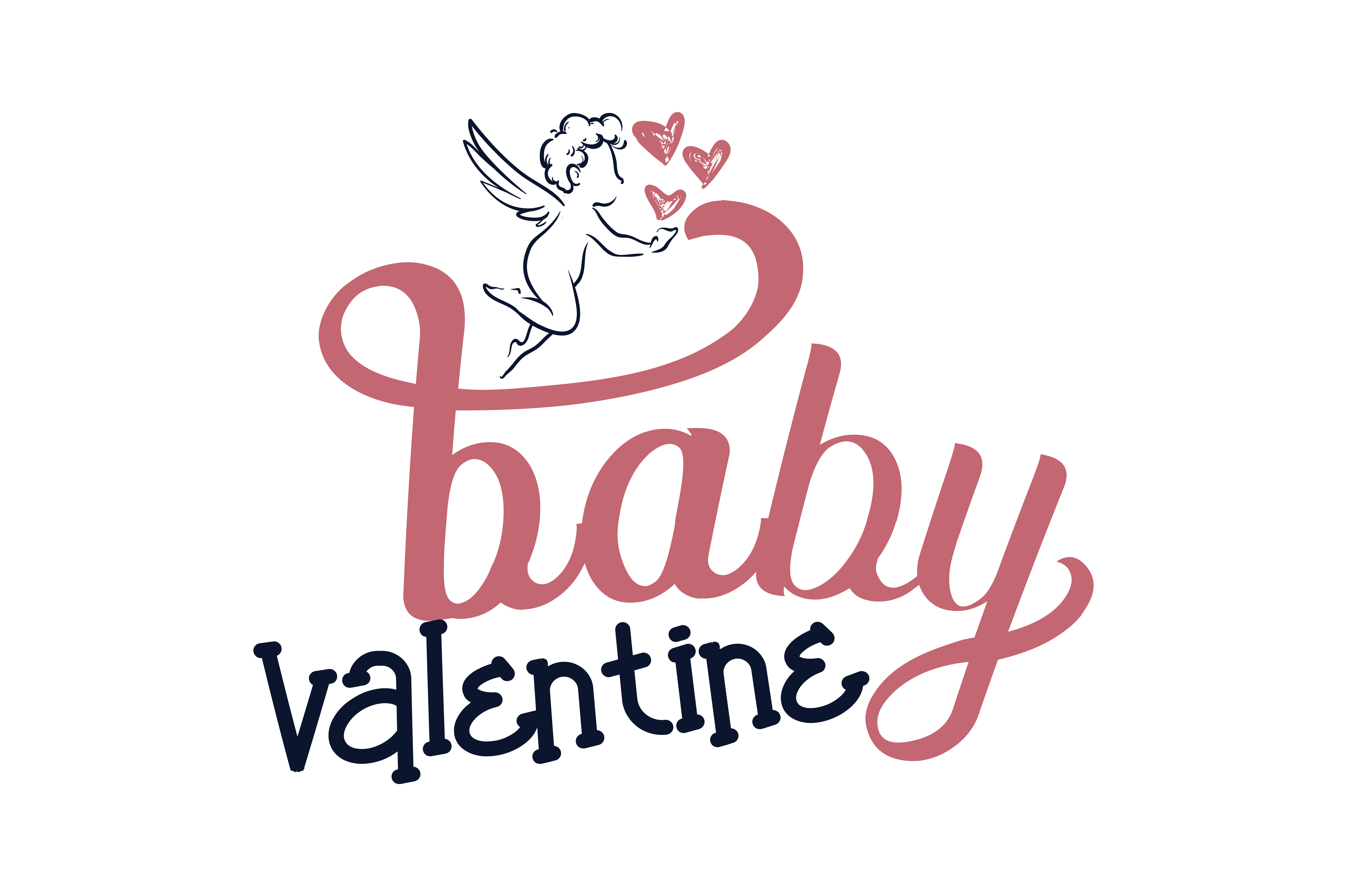 Download Free Baby Valentine Quote Svg Cut Graphic By Thelucky Creative Fabrica for Cricut Explore, Silhouette and other cutting machines.