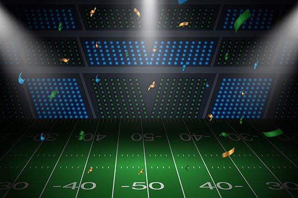Background American Football Arena Field Graphic Backgrounds By indostudio