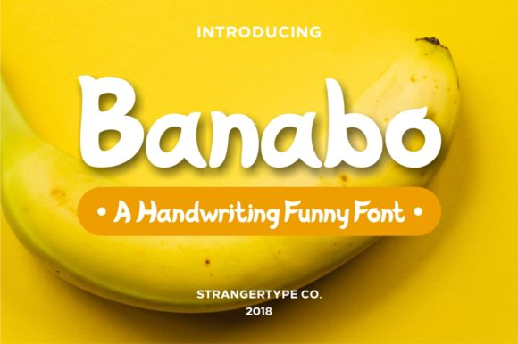 Print on Demand: Banabo Display Font By Strangertype