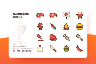 Barbecue and Grill Icon Pack Graphic By Goodware.Std
