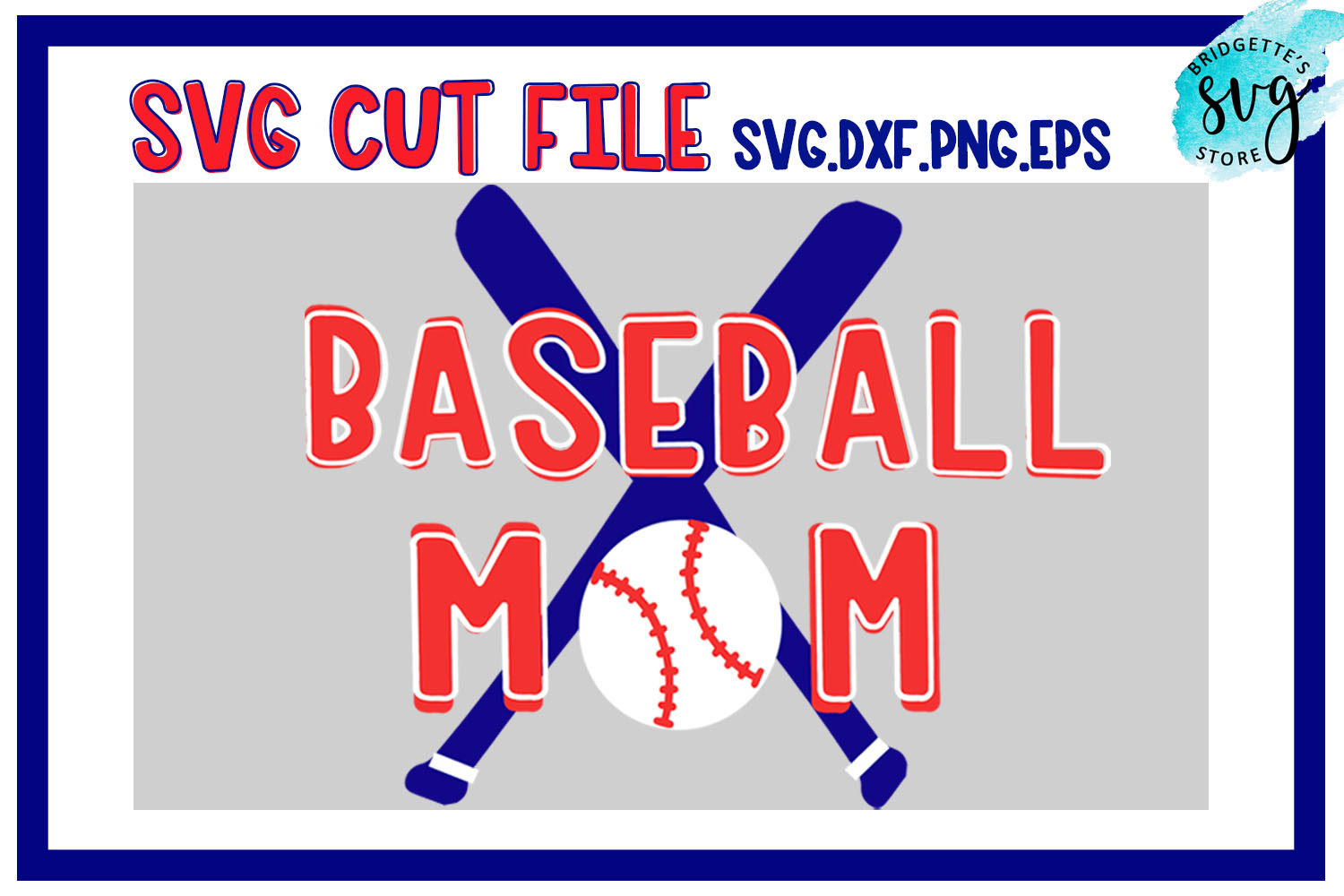 Baseball Mom Svg Cut File Graphic By Luxmauve Creative Fabrica