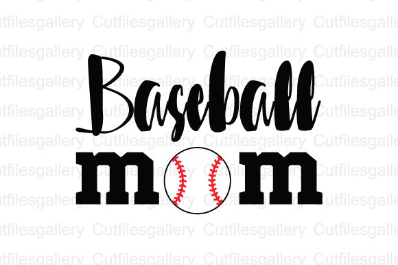 Download Free Baseball Mom Graphic By Cutfilesgallery Creative Fabrica for Cricut Explore, Silhouette and other cutting machines.