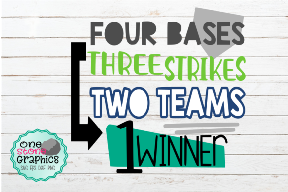 Baseball Graphic Crafts By OneStoneGraphics