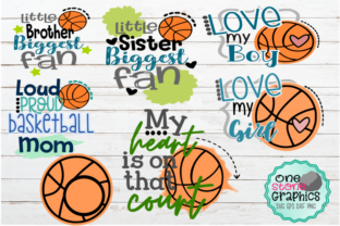 Download Free Basketball Bundle Graphic By Onestonegraphics Creative Fabrica for Cricut Explore, Silhouette and other cutting machines.