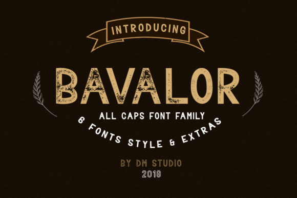 Print on Demand: Bavalor Family Sans Serif Font By dmletter31 - Image 1