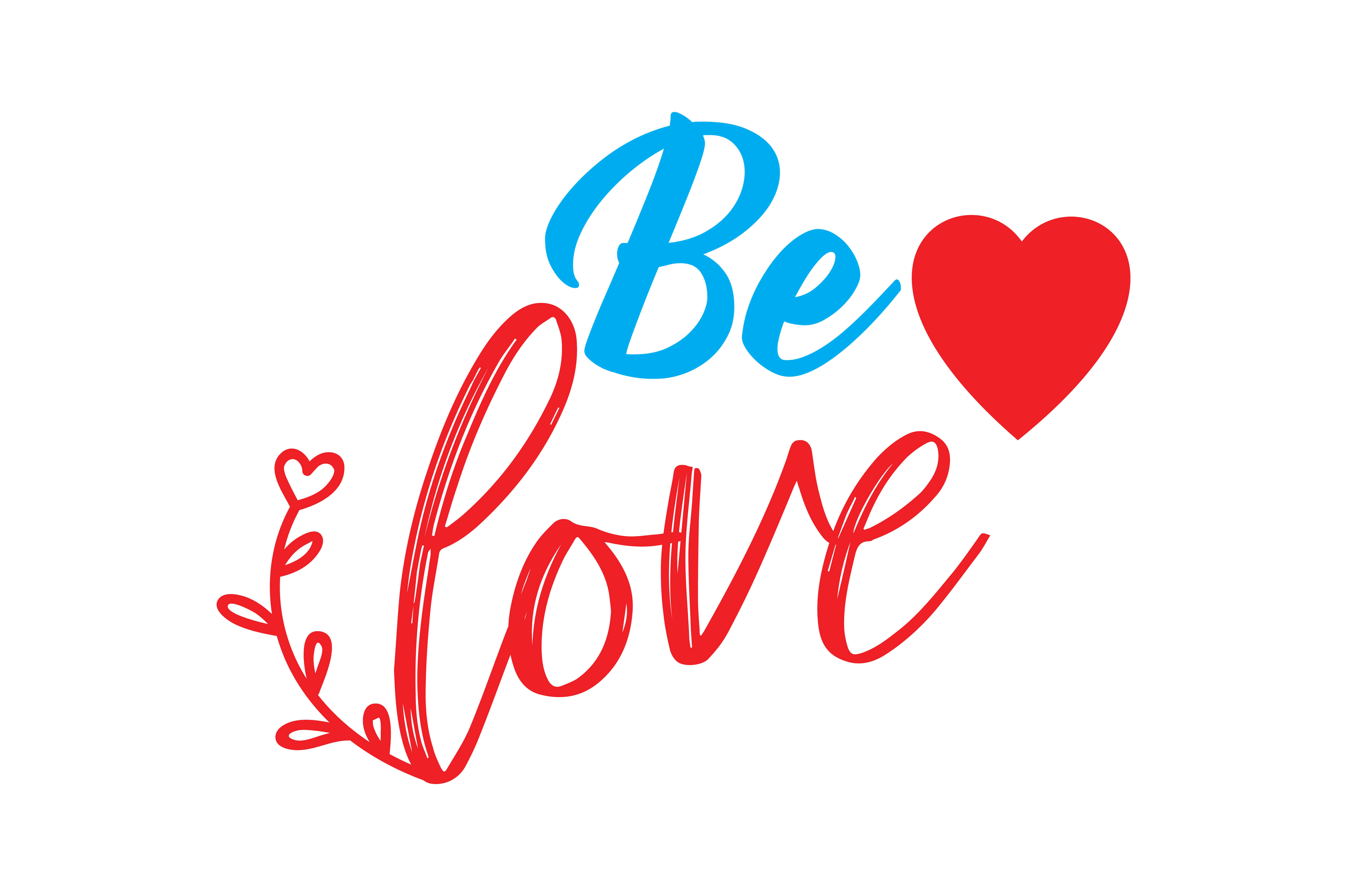 Download Free Be Love Quote Svg Cut Graphic By Thelucky Creative Fabrica for Cricut Explore, Silhouette and other cutting machines.
