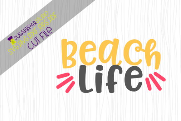 Beach Life SVG Graphic Crafts By SugarBearStudio