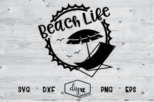 Download Free Beach Life Graphic By Sheryl Holst Creative Fabrica for Cricut Explore, Silhouette and other cutting machines.