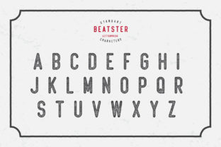 Print on Demand: Beatster Display Font By MuSan 3