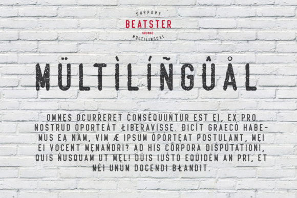 Print on Demand: Beatster Display Font By MuSan - Image 4
