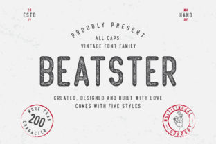 Print on Demand: Beatster Display Font By MuSan 1