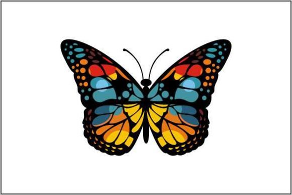 Beautiful Butterfly Graphic Logos By deniprianggono78